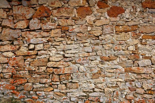 Alvenaria Espanha velho pedra paredes stonewall Foto stock © lunamarina