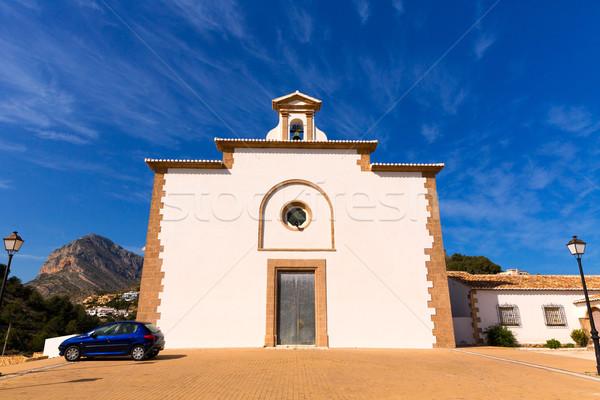 Javea Ermita del Calvario at Xabia Alicante in Spain Stock photo © lunamarina