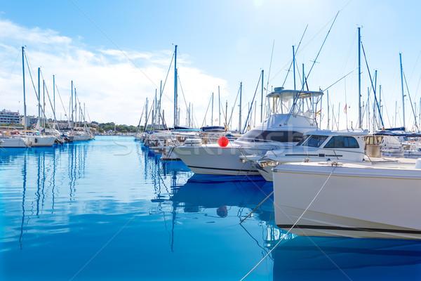 Jachthaven majorca eilanden Spanje water voorjaar Stockfoto © lunamarina