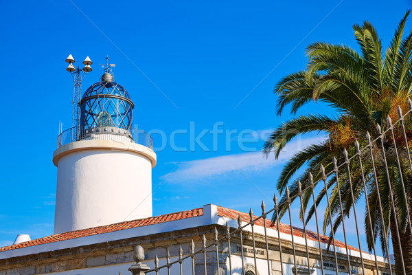 Costa Brava San Sebastian Lighthouse far Girona Stock photo © lunamarina