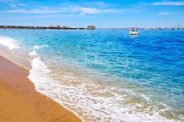 Cape cod plage Massachusetts USA eau paysage Photo stock © lunamarina