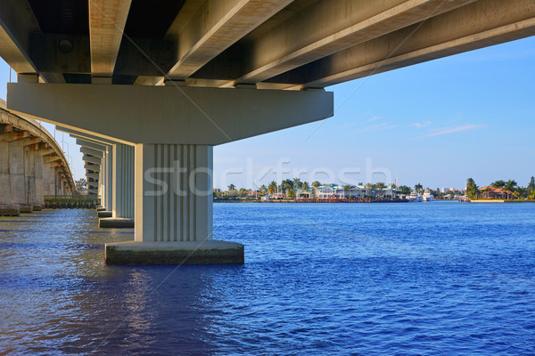 Naples Florida Marco Island bridge view Florida Stock photo © lunamarina