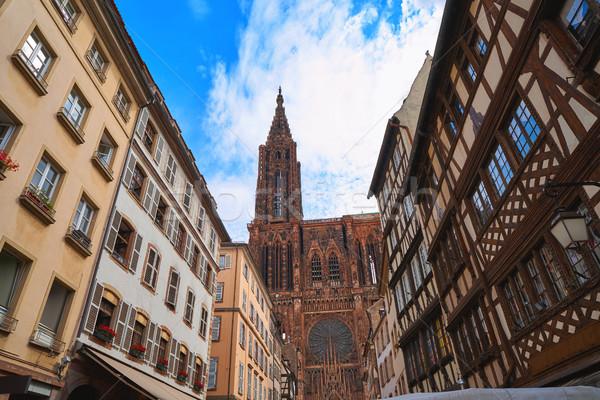 Notre Dame Frankrijk gebouw stad wereld kunst Stockfoto © lunamarina