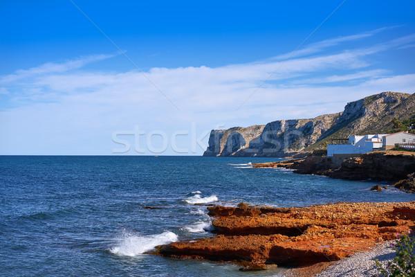 Denia Las rotas beach in spring at Alicante Stock photo © lunamarina