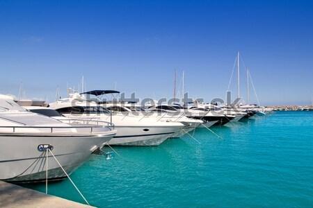 Luxus sziget víz tenger nyár óceán Stock fotó © lunamarina