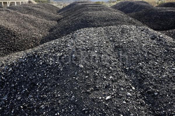 çakıl gri taş dokular asfalt Stok fotoğraf © lunamarina