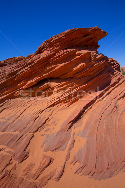 Stock photo: Arizona rocks on Page near Antelope Canyon