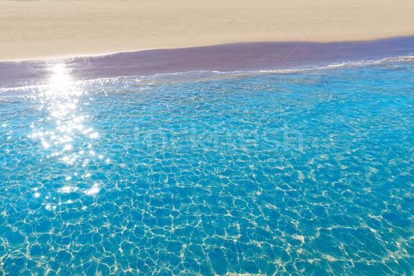 Tengerpart Valencia mediterrán Spanyolország part természet Stock fotó © lunamarina