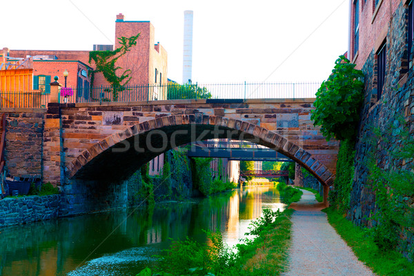 Stock photo: Chesapeake and Ohio Canal National Park DC