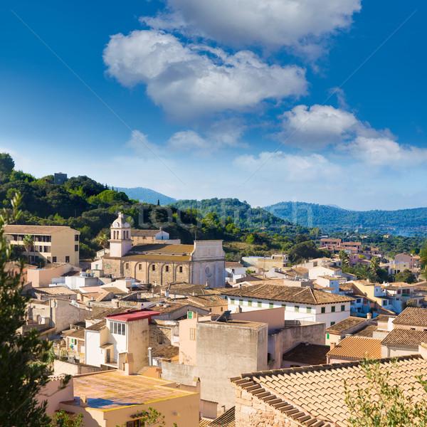 Majorca Capdepera village at  Mallorca Balearic Stock photo © lunamarina