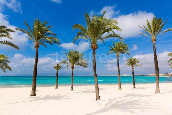 Stock photo: Majorca sArenal arenal beach Platja de Palma