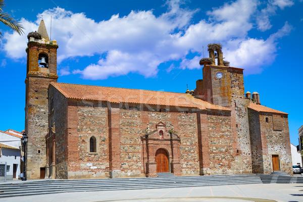 Monasterio church San Pedro apostol Spain Stock photo © lunamarina