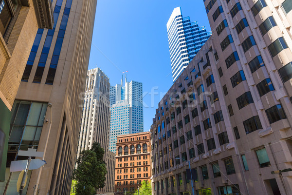 San Francisco centro de la ciudad edificios California EUA negocios Foto stock © lunamarina