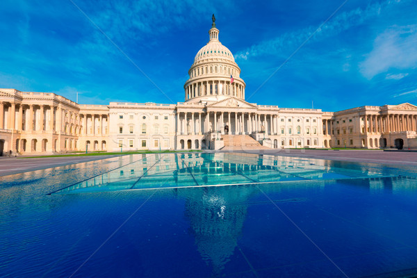 Foto stock: Edifício · Washington · DC · fachada · oriental · EUA · céu