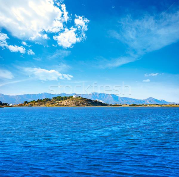 Templom domb Valencia Spanyolország tengerpart óceán Stock fotó © lunamarina