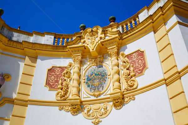 Seville Casino de la Exposicion in sevilla Spain Stock photo © lunamarina