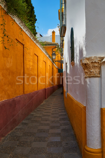 Seville Juderia barrio Andalusia Sevilla Spain Stock photo © lunamarina