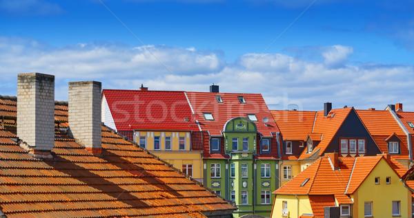 центра весны город горные лет путешествия Сток-фото © lunamarina