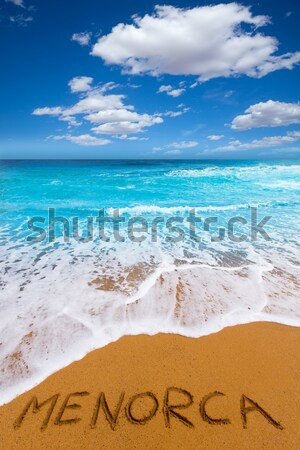 Pecado Caribe turquesa mar playa costa Foto stock © lunamarina