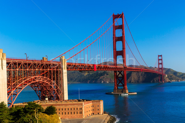 Golden Gate Bridge San Francisco California USA niebo miasta Zdjęcia stock © lunamarina