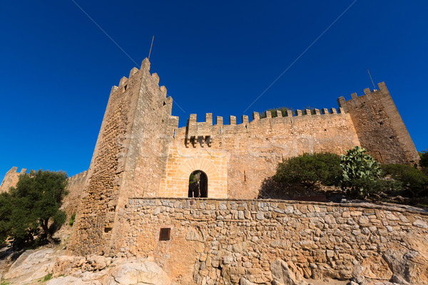 Majorca Capdepera Castle Castell in Mallorca Stock photo © lunamarina
