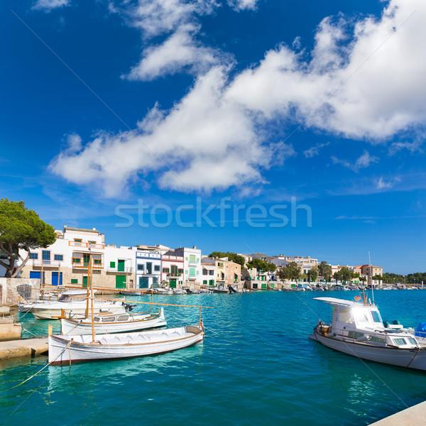 Porta mallorca ilha Espanha paisagem verão Foto stock © lunamarina