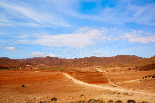 Almeria Playa de los Genoveses natural Park Stock photo © lunamarina