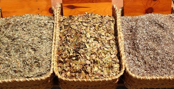 herbal natural medicine market traditional medicine Stock photo © lunamarina