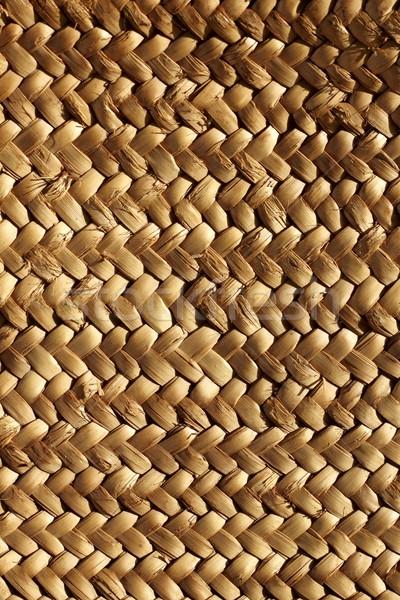 handcraft weave texture natural vegetal fiber Stock photo © lunamarina