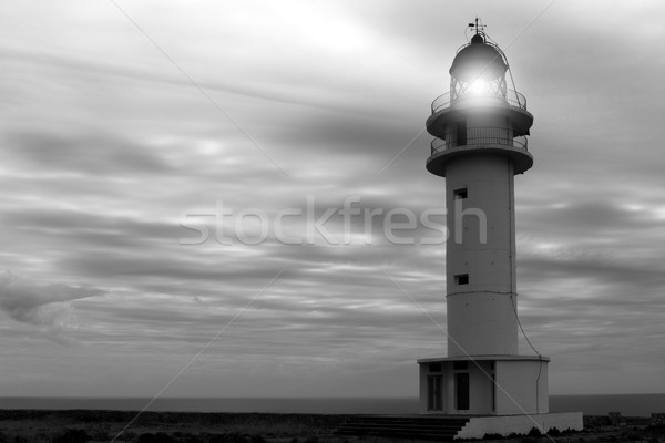 Barbaria cape lighthouse Formentera Balearic Stock photo © lunamarina