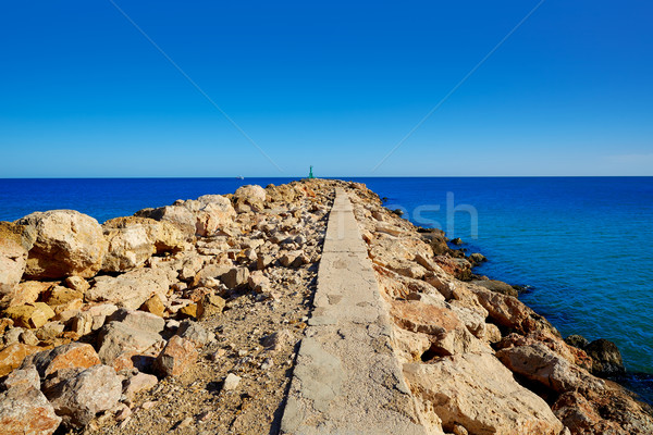 Folyó száj Valencia Spanyolország tengerpart természet Stock fotó © lunamarina