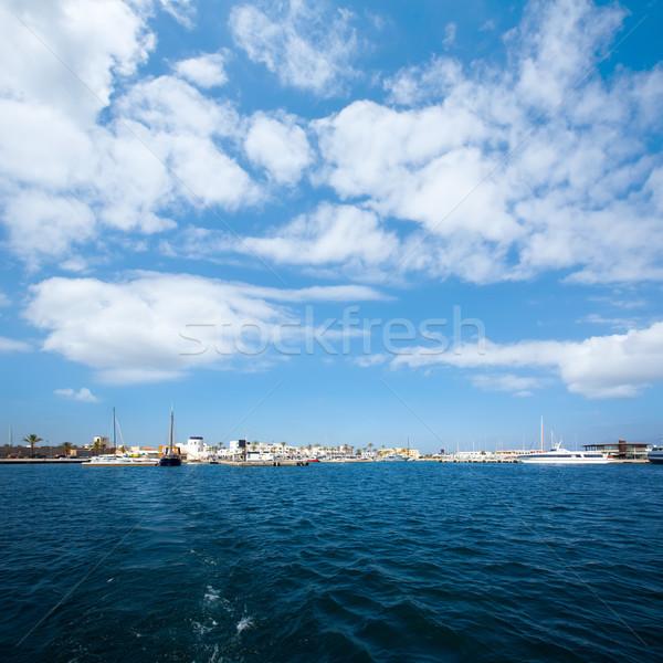 La aldeia marina praia água mar Foto stock © lunamarina