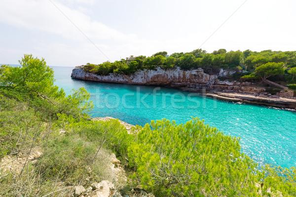 Stock photo: Majorca Cala Llombards Santanyi beach Mallorca