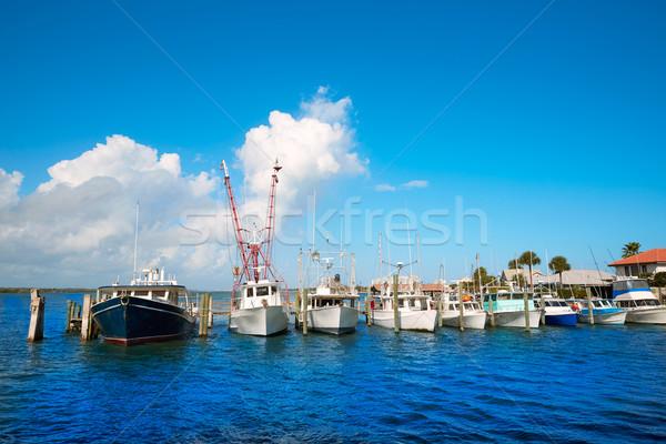 Daytona Beach in Florida from Port Orange US Stock photo © lunamarina
