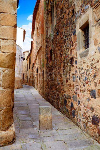 Caceres monumental city Extremadura Spain Stock photo © lunamarina
