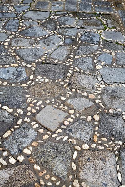 Spanje stenen detail la manier Stockfoto © lunamarina