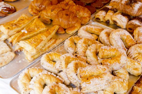Mediterranean bakery wseet pastries Stock photo © lunamarina