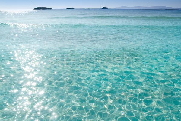 Illetes Illetas beach Formentera turquoise Mediterranean Stock photo © lunamarina