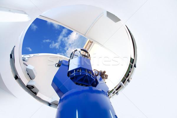 astronomical observatory telescope indoor Stock photo © lunamarina