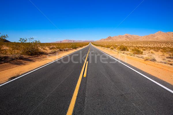 пустыне route 66 Калифорния США долины солнце Сток-фото © lunamarina