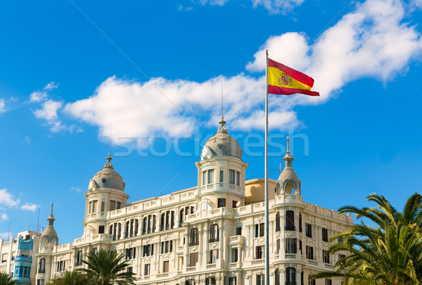Alicante Explanada de Espana casa Carbonell in Spain Stock photo © lunamarina