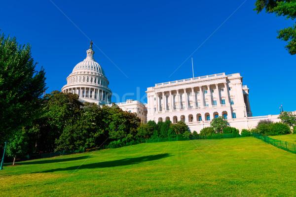 Edificio Washington DC luz del sol día EUA casa Foto stock © lunamarina