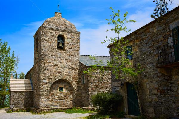 Manier galicië echt kerk Stockfoto © lunamarina