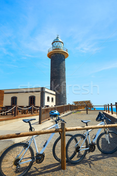 Jandia lighthouse Fuerteventura Canary Islands Stock photo © lunamarina