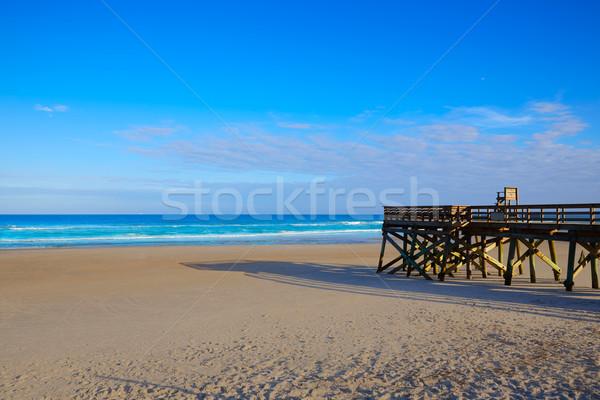 Praia Flórida EUA água natureza fundo Foto stock © lunamarina