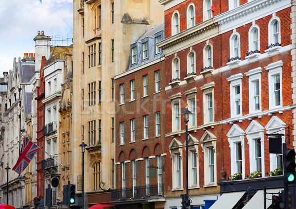 Londres céu edifício cidade rua urbano Foto stock © lunamarina