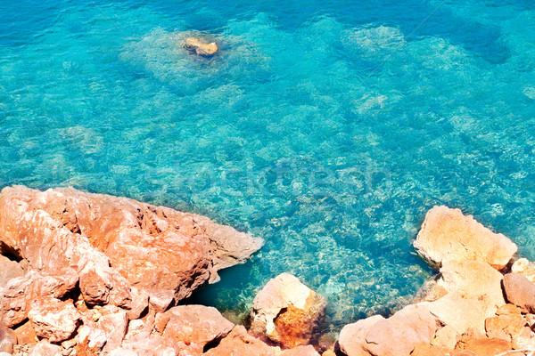 Escorca Sa Calobra beach in Mallorca balearic island Stock photo © lunamarina