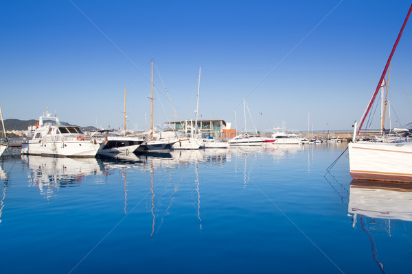 Ibiza San Antonio Abad port Stock photo © lunamarina