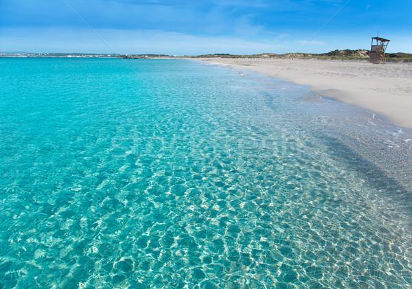 Tanga türkiz tengerpart tökéletes víz tenger Stock fotó © lunamarina