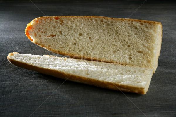 открытых хлеб подготовленный сэндвич метафора здоровья Сток-фото © lunamarina